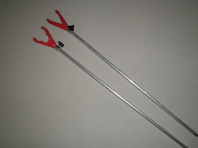 Rybářská vidlička s gumovým koncem