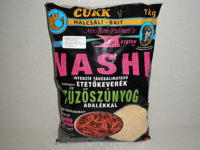 CUKK krmení nashi patentka 1kg