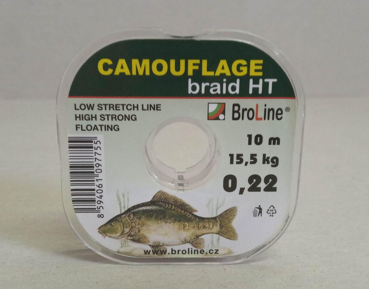 BroLine Camouflage braid HT 10m 0,22mm 15,5kg