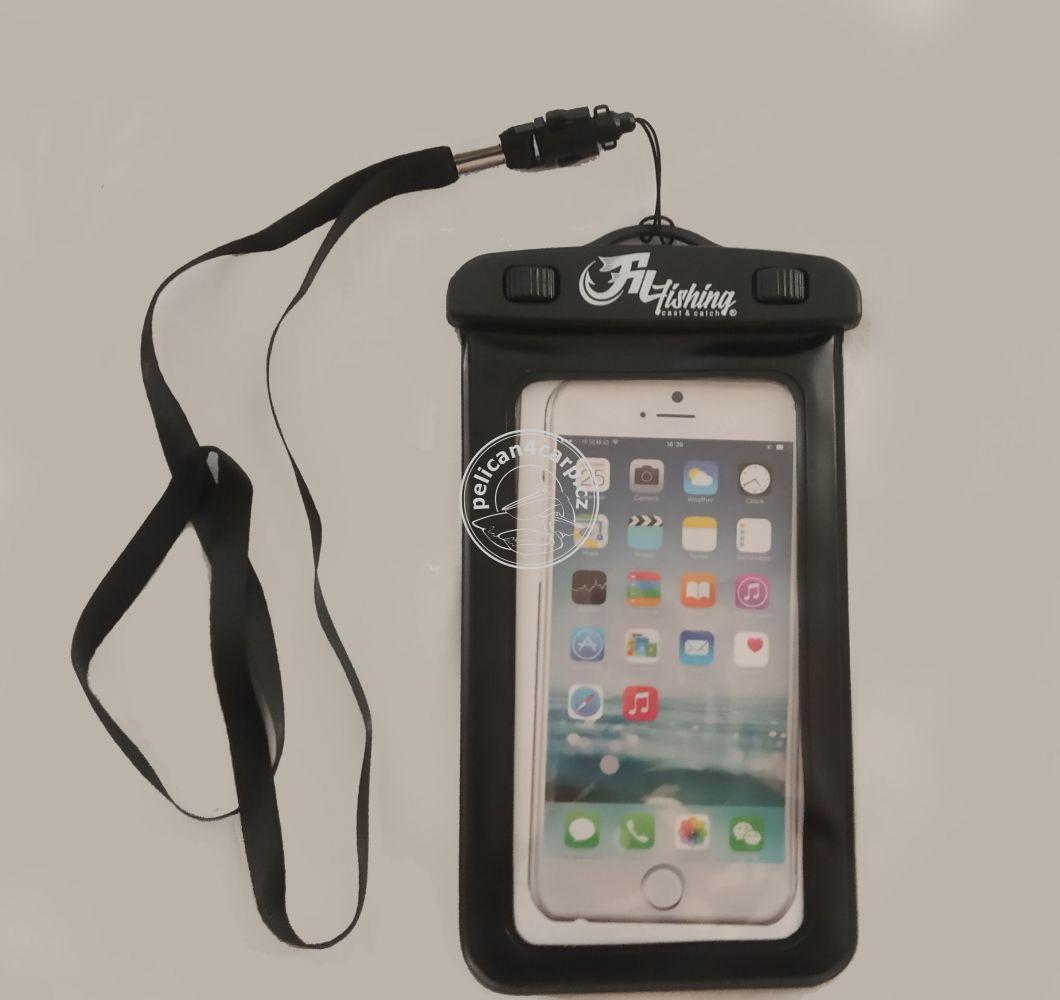 Vodotěsné pouzdro na mobil na ryby