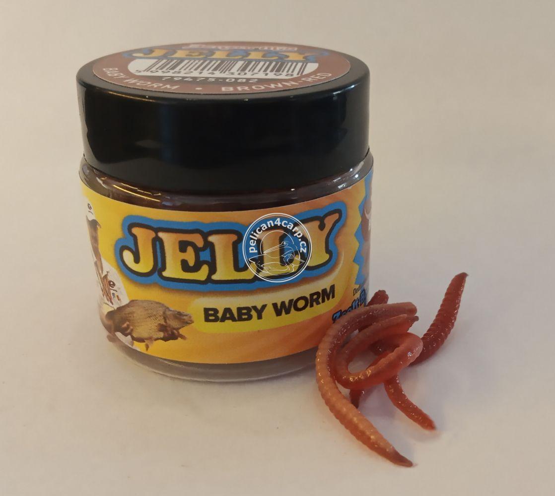 Červ nástraha Jelly Benzar