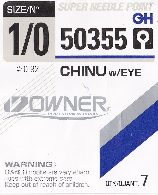Owner chinu s očkem 50355