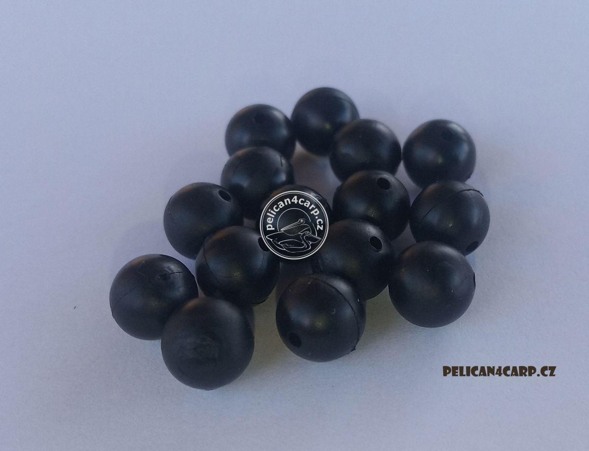 Gumové kuličky 4mm černé 20 ks