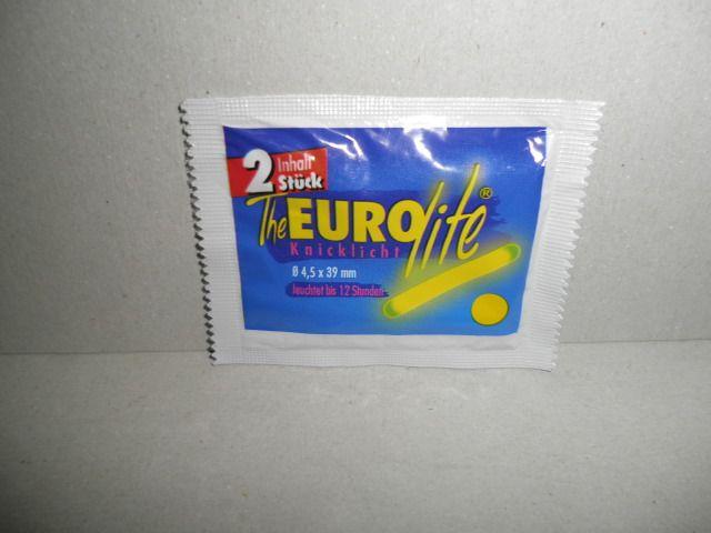 Behr chemické světýlko Euro Lite - Svítící Ampule 4,5x39 mm 10 x 2 ks