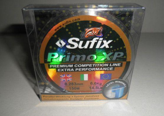 Sufix vlasec Primo XP 150m 0,143mm