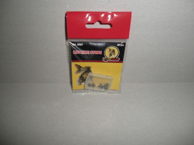 Extra Carp Zarážky Rig Ring Stops-Vymezení pohybu kroužku na Háčku