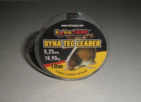 Extra Carp Dyna Tec návazcová šňůra 10m 0,15-0,30mm