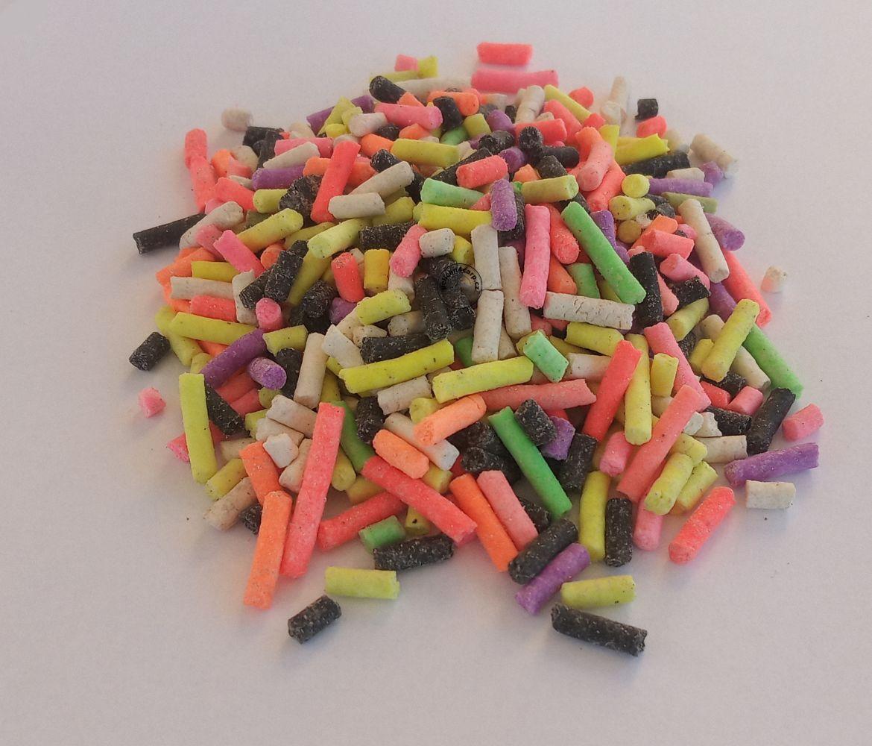 Plněné pva fluoro mini pelety 3 mm