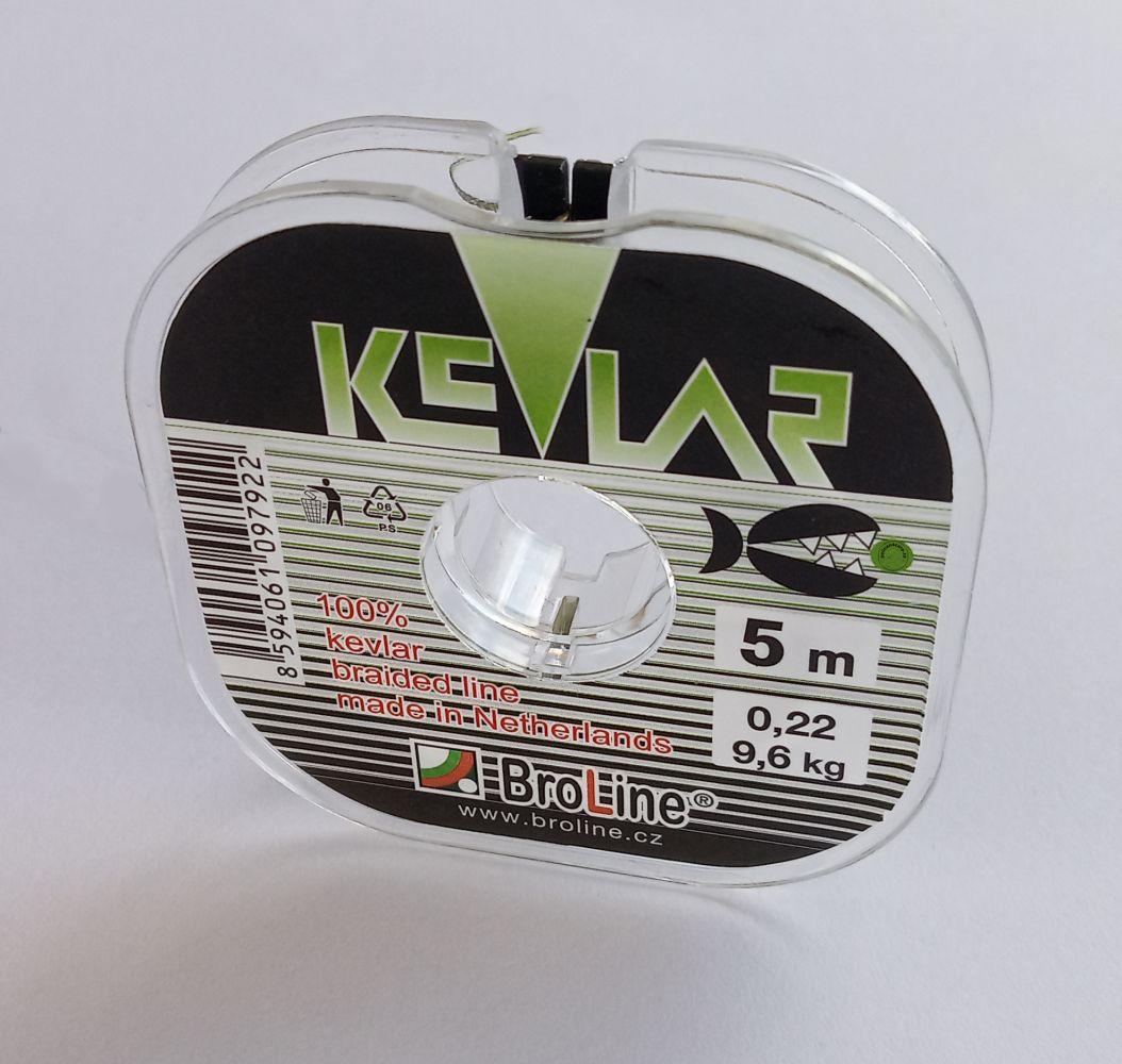 Kevlar šnůra 0,22mm 9,6 kg