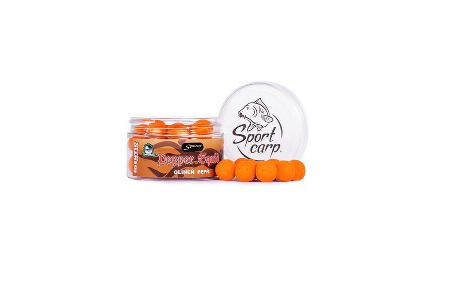 Sportcarp plovoucí boilies Identic Pepper Squid 15 mm