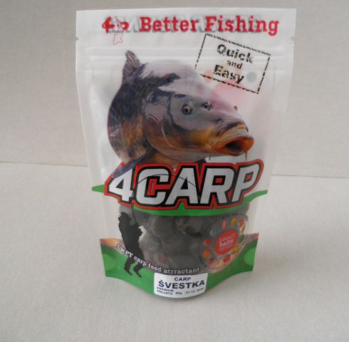 4CARP pelety Premium Halibut 80g 14mm