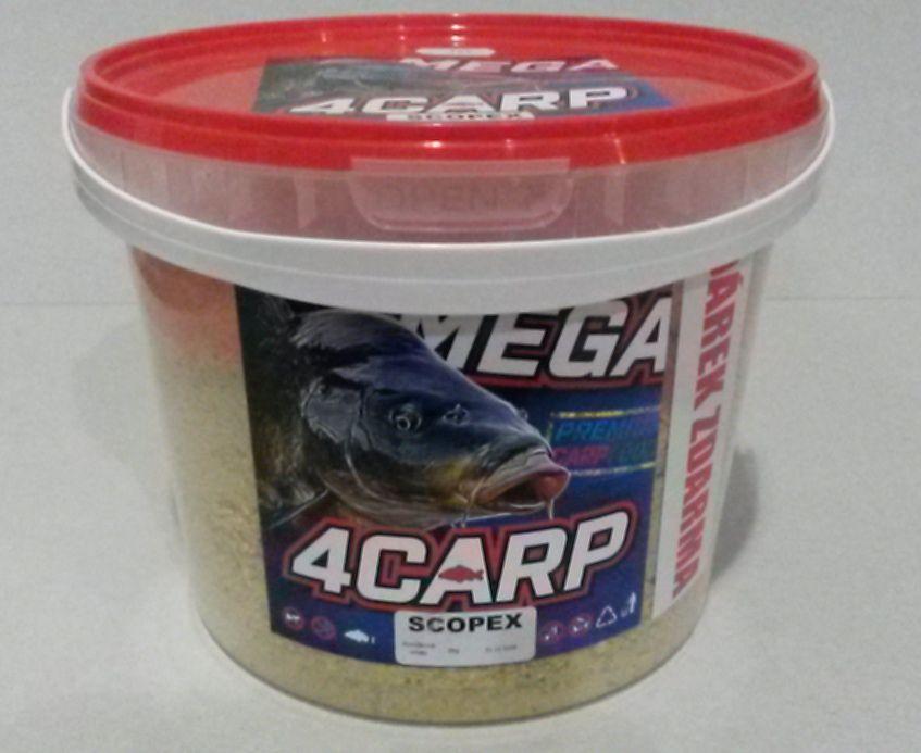 4carp Krmítková směs Kyblík scopex 2kg