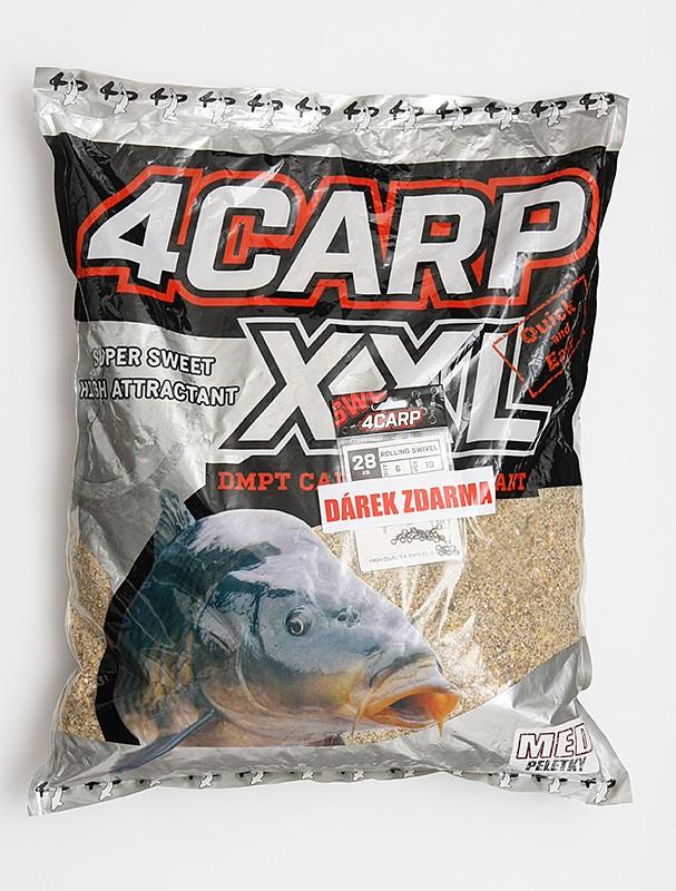 4Carp Krmítková směs XXL 5kg + obratlíky 4Carp zdarma
