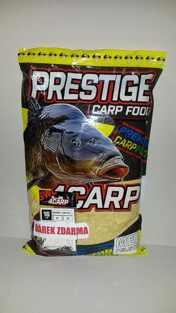 4CARP Krmítková směs Prestige 2 kg + obratlíky 4Carp zdarma