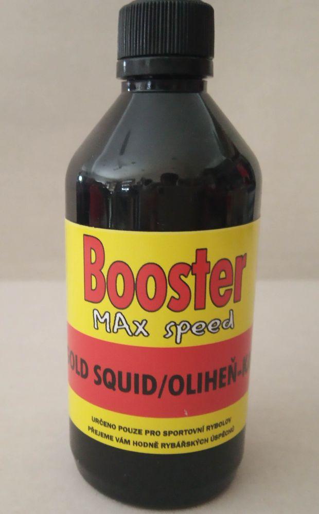 Maxcarp Booster Gold squid 100 ml