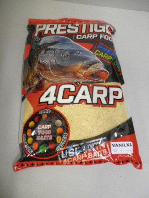 4carp Krmítková směs Prestige 1kg Vanilka