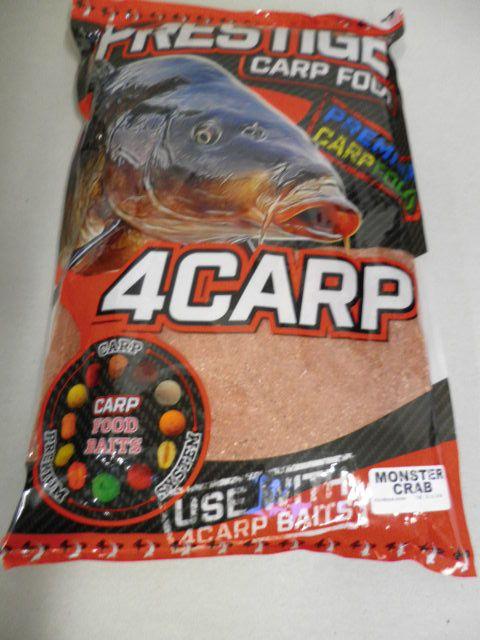 4carp Krmítková směs Prestige 1kg Monster Crab