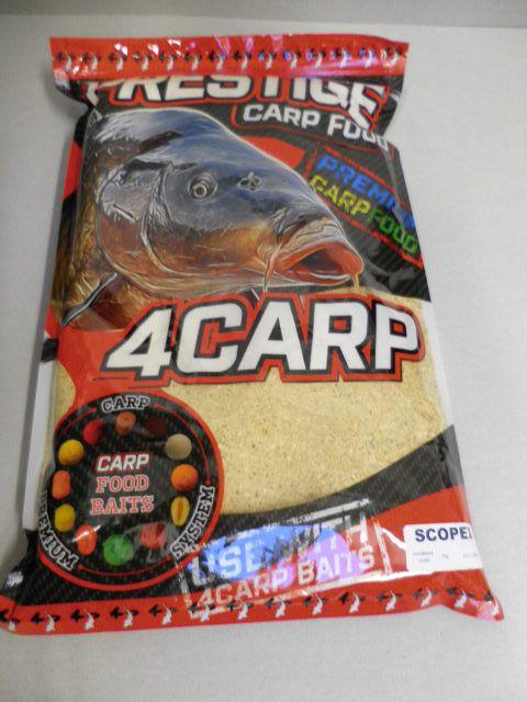 4carp Krmítková směs Prestige 1kg Scopex