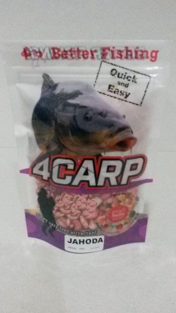 4Carp Foukaná pšenice 150ml Jahoda