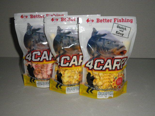 4carp Foukaná kukuřice 200ml Med
