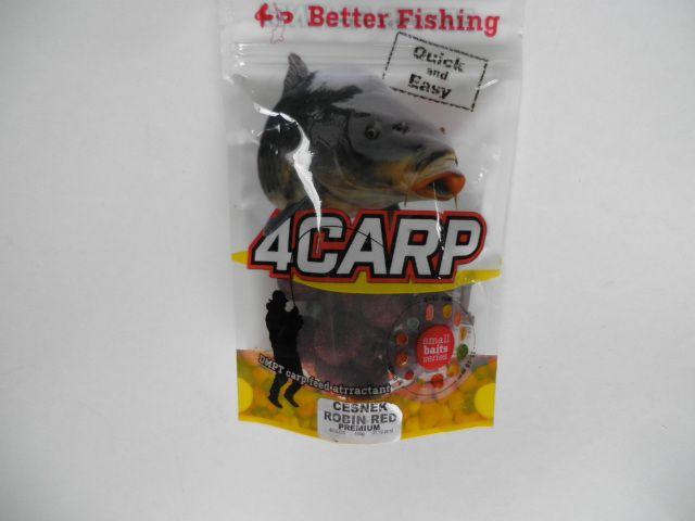 4Carp boilies Česnek Robin red 20mm 100g