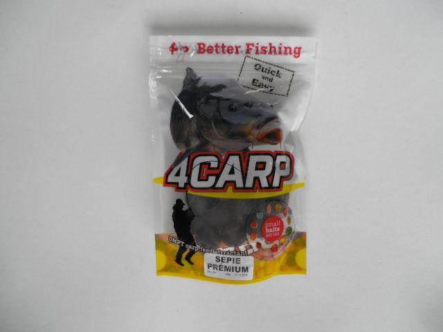 4Carp boilies Halibut Pepř Chilli 20 mm 100 g