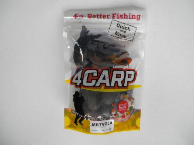 4Carp boilies Mrtvola 20mm 100g