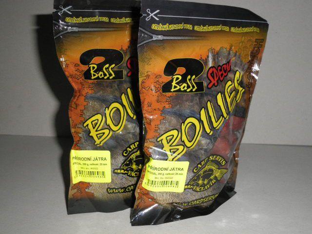 Václavík Boilies Boss2 SPECIÁL Přírodní játra - 1kg 20 mm