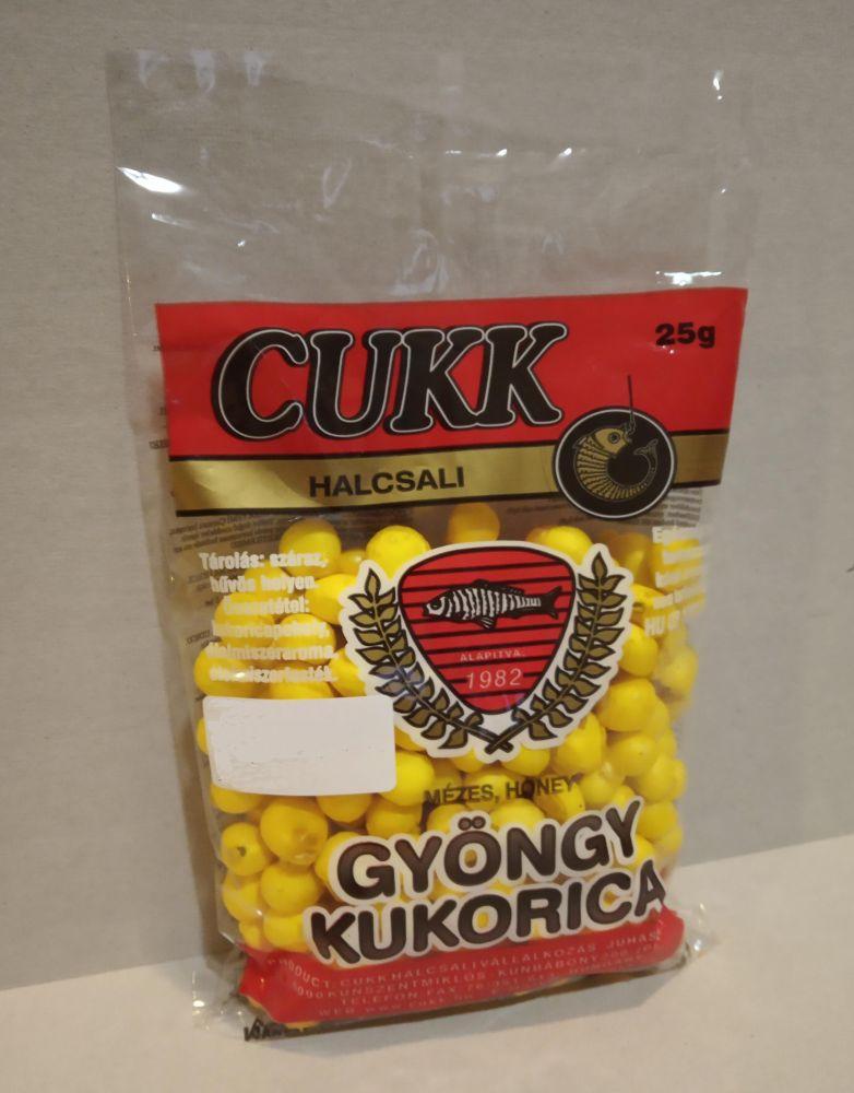 Cukk Foukaná kukuřice Med 25g