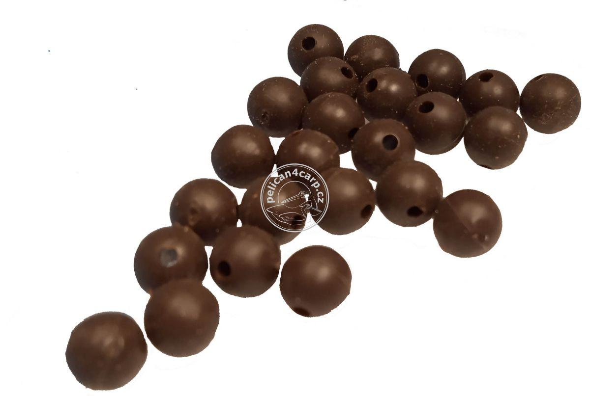 Gumové kuličky pruběžné 4-6 mm 25 ks