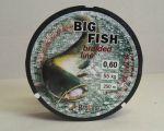 Broline Big Fish 0.60 mm Sumcová Splétaná šňůra 55 kg 250 m