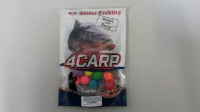 4Carp Fluoro pop up boilies 30g 15mm Brusinka