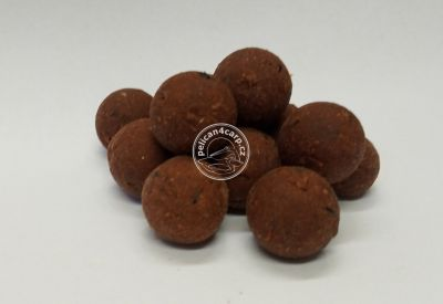 Maxcarp Fresh Boilies 3D RED ZOMBIE - SPICE 24 mm 1 kg