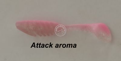 FLOATING SHAD 80 mm pink 3,8 g Attack aroma 5 ks
