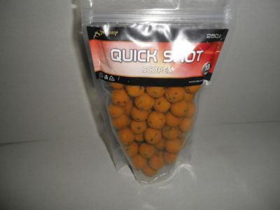 Sportcarp boilies QUICK Shot 250g 18mm Scopex