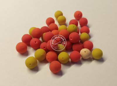 4Carp Method Feeder boilies FLUORO Mini s dírkou - 8mm / 40g