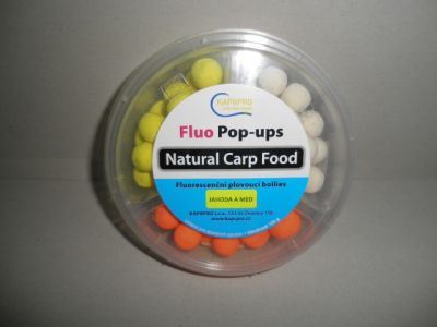 BOILIES FLUO POP - UP mix Jahoda 15/20mm100g